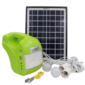 Newly DC Solar PV Lighting Kit pictures & photos