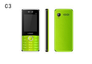 China Best Selling 2.4inch 2g GSM Feature Cell Phone for The Old C3 pictures & photos
