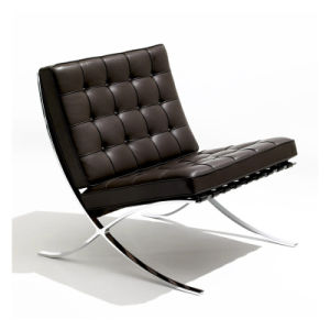 Modern Designer Barcelona Chaise Lounge Chair pictures & photos