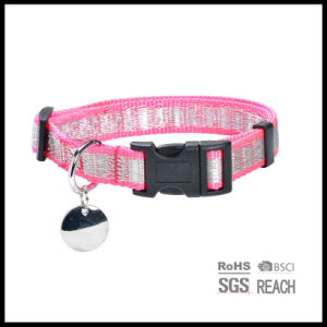 Custom Reflective Woven Pet Dog Training Collar for Safety Glow in The Dark pictures & photos