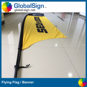 China Manufacturer High Quality Custom Printed Full Color Feather Flags Blade Banners pictures & photos