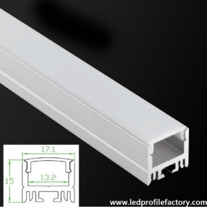 Pn4215 15mm High LED Aluminium Profile/Channel/Extrusion for LED Strip pictures & photos