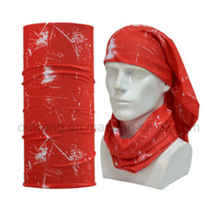 Design Your Own Sports Wear Red Magic Multifunctional Tube Bandana pictures & photos