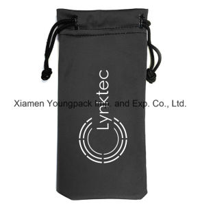 Promotional Custom Printed Soft Microfiber Cloth Drawstring Glasses Pouch pictures & photos