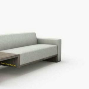Wooden Frame Armrest Modern Fabric Sofas for Hotel (F1116#) pictures & photos