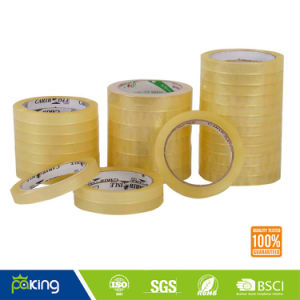Clear Paper Core OPP Stationery BOPP Tape pictures & photos