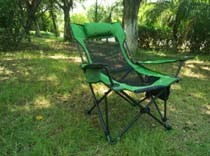 Multifunctional Gauze Chair Folding Chair Nap Bed Chair Outdoor Camping Leisure Chair Fishing Chair