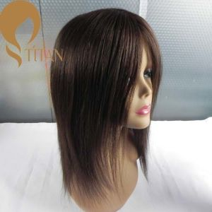 Best Virgin Human Hair French Lace Custom Wig for Women pictures & photos