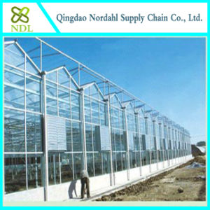 Cheap Farm Equipment Galvanized Square Steel Pipe Greenhouse pictures & photos