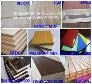 18*1220*2440mm Oak Melamine MDF /Laminated MDF pictures & photos