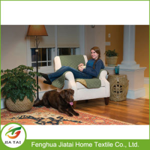 Custom Polyester Couch Coat Convenient Reversible Sofa Cover pictures & photos