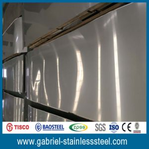 Mirror Polished 4 X 8 Stainless Steel Density 304 Sheet for Decoration pictures & photos