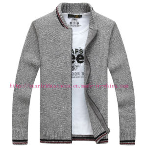 Men′s Acrylic and Polyester Sweater (KNITWEAR) (261) pictures & photos
