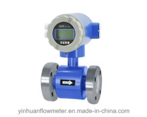 High Pressure Flange Integrated Electromagnetic Flowmeter pictures & photos