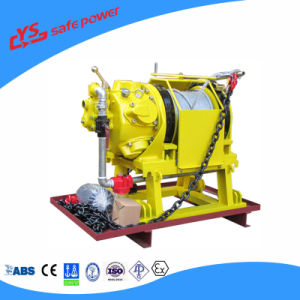 0.5ton - 10ton Pneumatic Air Winch Hoist Lifting / Dragging for Offshore and Mine Use pictures & photos