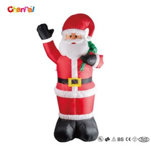 Whole Sale Cheap Inflatable Toy Christmas Santa for Home (CHX1421) pictures & photos