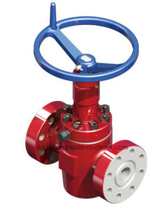 API 6A Manual Gate Valve for Oil Field pictures & photos