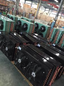 China Hot Sale Fin Type Cooper Tube Air Cooled Condenser for Refrigeration Unit pictures & photos