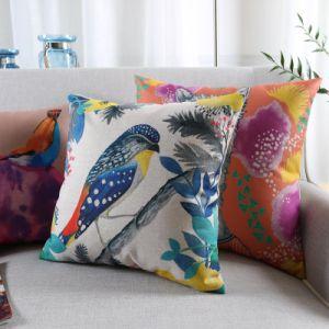 Cheap Cotton Linen Vintage Throw Pillows for Seat pictures & photos