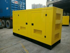 200kVA/160kw Cummins Water Cooled Soundproof Diesel Generator Set pictures & photos