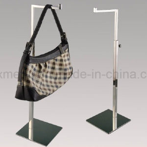 Table Handbag Double Hooks Bag Holder Metal Display Stand pictures & photos
