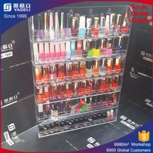 Rotating Acrylic Nail Polish Rack Display Acrylic Organizer Lipstick Holder pictures & photos