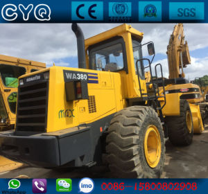 Used Komatsu Wheel Loader Wa380-3 Loader for Sale pictures & photos