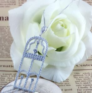2017 Wholesale White Gold Plated Silver 925 Earring pictures & photos