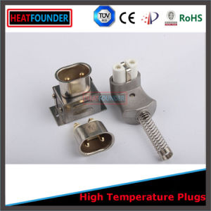 600V 35A European Electric Ceramic Plug with 2pin Socket (T727) pictures & photos
