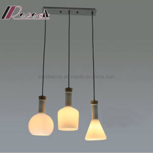 E27 40W Metal Opal Glass Pendant Light for Dining Room pictures & photos