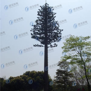 GSM Camouflaged Pine Tree Monopole for Telecom pictures & photos