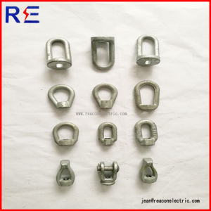 Hot DIP Galvanized Forged Steel Thimble Eye Nut for Pole Line Hardwares pictures & photos