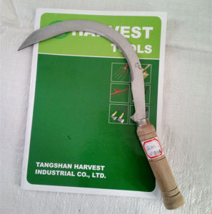 Sicle Wood Handle Sickle Hand Tool for Farming pictures & photos