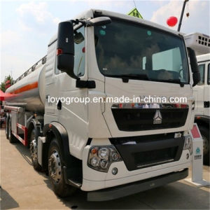 Sinotruk T5g 8X4 Fuel Truck with 18000L Aluminium Fuel Tanker pictures & photos