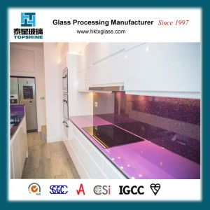 Easy Clean Tempered Glass Worktop, Countertop for Kitchen with BS6206 Certificate pictures & photos