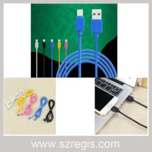 Colorful Charging Data Cable Apple iPhone Android Mobile Phone pictures & photos