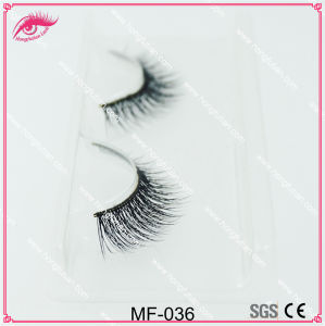 Natural False Eyelash Mink Wispie Lashes Qingdao Fake Eyelash Manufacturer pictures & photos