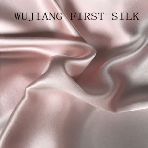 100%Silk Satin Solid Dyed Fabric, Silk Satin Fabric, Silk Fabric pictures & photos
