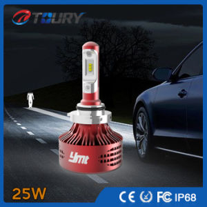 25W New Auto Headlamp White Blue Red LED Car Headlight pictures & photos