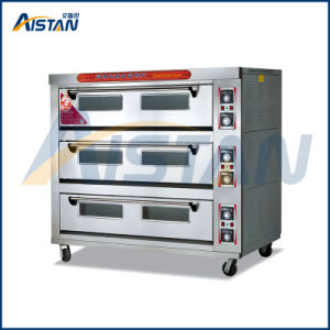 Htd-120 up & Bottom Fire Is Controlled Separately 3 Layer -12 Trays Electric Oven for Kitchen Equipment pictures & photos