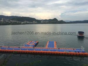 Gray V Shape Pontoon Jet Ski Floating Dock pictures & photos