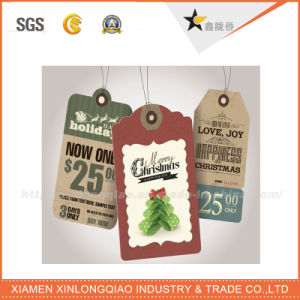 Hot Sale Garment Accessories Paper Hang Tag pictures & photos