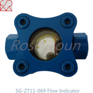 Chinese Manufacture 1 Inch NPT Thread Gas Flow Indicators with Flap pictures & photos