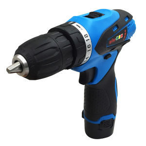 Goxawee Power Tool 12V Two Speed Electric Cordless Drill