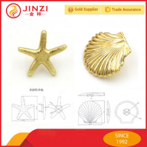 Fashion Decorative Metal Starfish and Shell Rivets pictures & photos