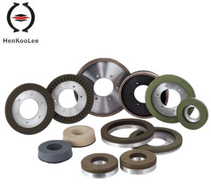 Diamond Tools for Y3 Continuous Resin-Bond Diamond Chamfering Wheel (Rotation Left/Right) pictures & photos