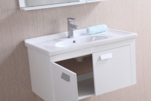 PVC Wall Mounted Bathroom Vanity Cabinet pictures & photos