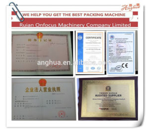 Pillow Sealing Pouch Automatic Rice Sugar Grain Packing Machine pictures & photos