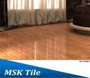 150X900 Full Polished Glazed Wook-Look Floor Tile My159005 pictures & photos