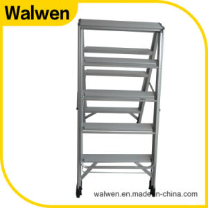a Frame New Style Multipurpose Folding Aluminum Household Ladder pictures & photos